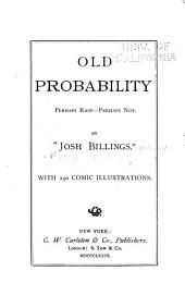 Old Probability: Perhaps Rain--perhaps Not