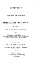 Influence of the History of Science Upon Intellectual Education PDF