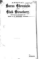 Annual Burns Chronicle and Club Directory: Issues 13-16