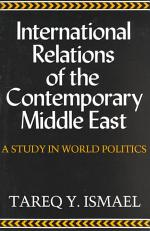 International Relations of Contemporary Middle East