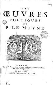 Les Oeuvres poétiques du P. Le Moyne