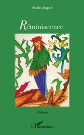 Réminiscence: Poèmes