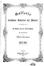 Gallerie ber  hmter Schweizer der Neuzeit PDF