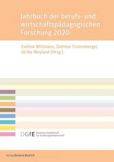 Jahrbuch der berufs  und wirtschaftsp  dagogischen Forschung 2020 PDF