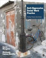 Anti Oppressive Social Work Practice PDF