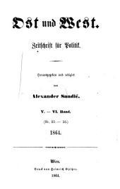 Ost und West: Zeitschrift für Politik und slavische Interessen, Band 4