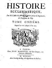 Historique ecclésiastique: Volume11