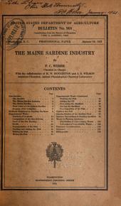 Maine Sardine Industry