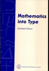 Mathematics Into Type
