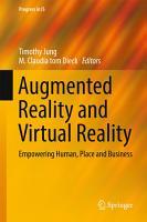 Augmented Reality and Virtual Reality PDF