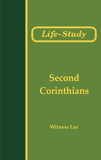 Life Study of Second Corinthians PDF