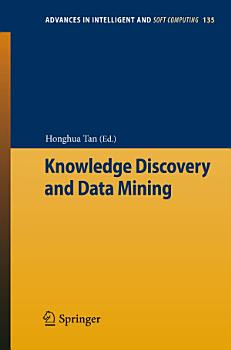 Knowledge Discovery and Data Mining PDF