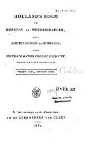 Holland's roem in kunsten en wetenschappen: Volume 2;Volume 4