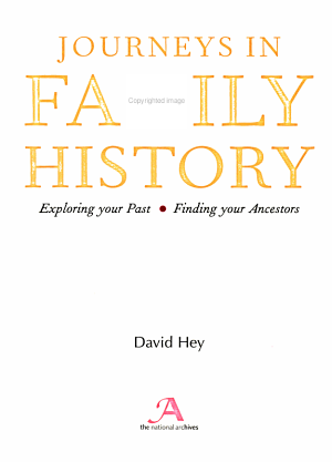 Journeys in family history
