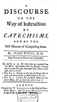 A Discourse on the Way of Instruction by Catechisms PDF