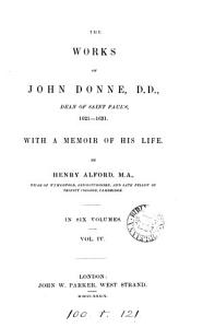 The works of John Donne  With a memoir by H  Alford PDF