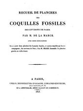Recueil de planches de coquilles fossiles des environs de Paris