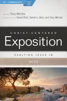 Exalting Jesus in Acts PDF
