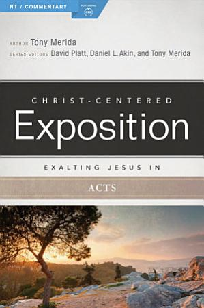 Exalting Jesus in Acts PDF