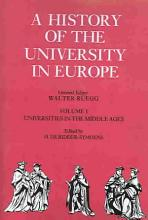 A History of the University in Europe  Volume 1  Universities in the Middle Ages PDF