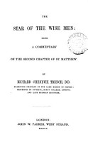 The star of the wise men  a commentary on the 2nd chapter of St  Matthew PDF