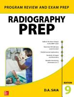 Radiography PREP  Program Review and Exam Preparation   Ninth Edition PDF