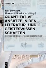 Quantitative Ans  tze in den Literatur  und Geisteswissenschaften PDF