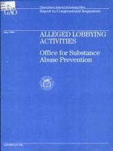 Alleged Lobbying Activities PDF