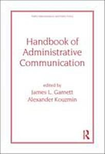 Handbook of Administrative Communication Book