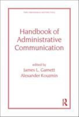 Handbook of Administrative Communication