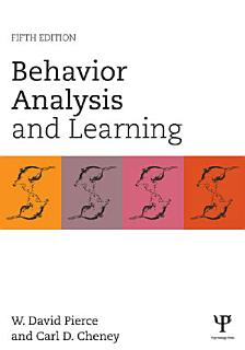 Behavior Analysis and Learning Book