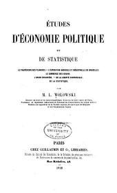 Études d'économie politique et de statistique