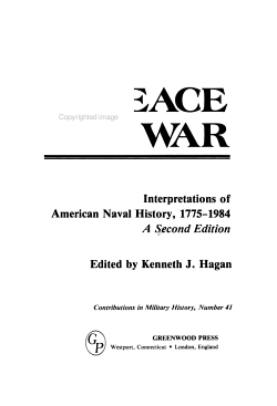 In Peace and War PDF