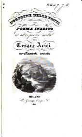 L'Origine delle fonti, poema inedito, ed altre poesie scelte ... novellamente corrette