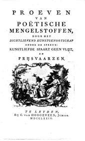 Proeven van poëtische mengelstoffen: Volume 2