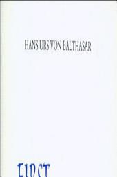 First Glance at Adrienne Von Speyr