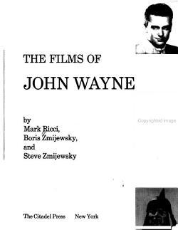 The Films of John Wayne PDF
