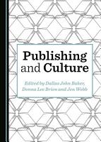 Publishing and Culture PDF