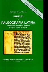 Ejercicios de paleografia latina: láminas, transcripciones y comentario, Volume 1