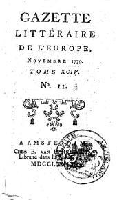 Gazette littéraire de l'Europe: augm. de plus. articles, qui ne se trouvert pas dans l'éd. de Paris, Volume94