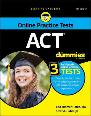 ACT For Dummies  with Online Practice PDF