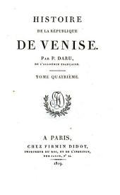 Histoire de la république de Venise