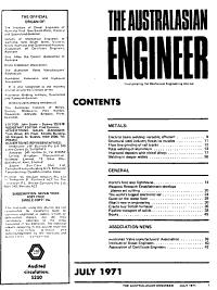 The Australasian Engineer PDF