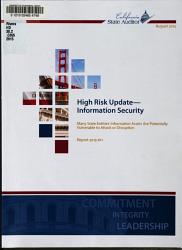 High Risk Update  information Security PDF