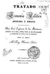 Tratado de economía política aplicada a España