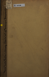 Checklist of Municipal Documents in the New York Public Library