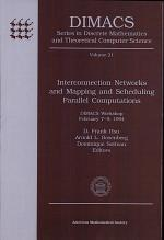 Interconnection Networks and Mapping and Scheduling Parallel Computations