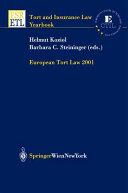 European Tort Law 2001 PDF