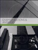 Exam Questions and Answers
