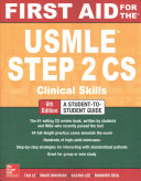 First Aid for the USMLE Step 2 CS  Sixth Edition PDF